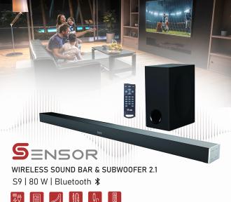 SENSOR S9 SOUND BAR&SUBWOOFER 1
